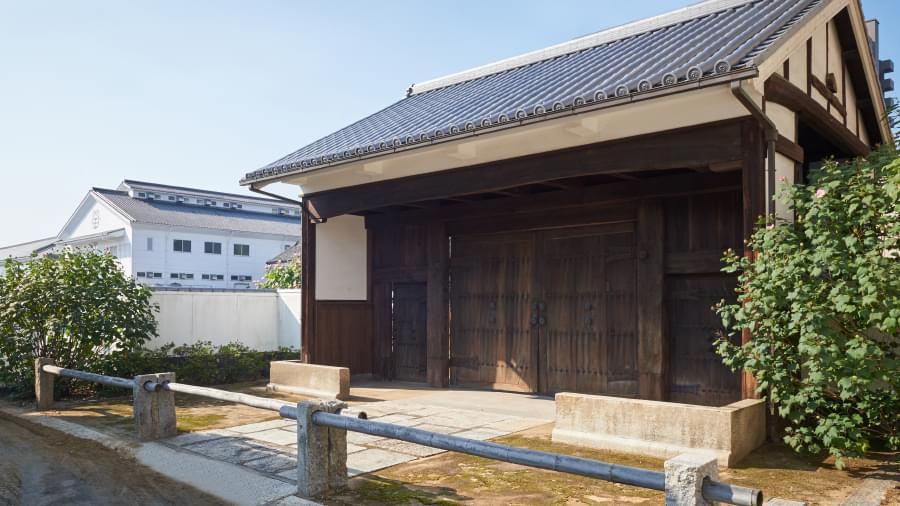 Kamada Soy Sauce's former main gate